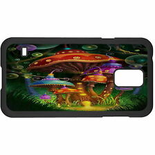 Enchanted Mushrooms Hard Case Cover For Samsung New