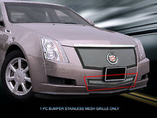 Lower Bumper Wire Mesh Grille Grill for 2008-2013 Cadillac CTS 09 2010 2011 2012