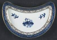 Royal Doulton Real Old Willow Crescent Salad Plate 849038