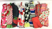 Girls Size 6-7 LOT of 10 ~ Summer Dresses~ Romper~ Short Outfit~ Justice Gap