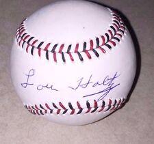 Notre Dame LOU HOLTZ  Signed OML 2015 All Star Game  Baseball Ball