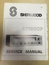 Sherwood Service Manual for the S-7125 Receiver