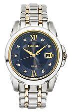 *BRAND NEW* Seiko Men's Silver Tone Bracelet Stainless Steel Watch SNE429