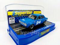 Slot Car Scalextric Superslot H4085 Ford Escort MKI Daytona 1972 #24