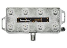 Channel Master 8-Way Splitter Coaxial Cable RF Signal TV Antenna CATV CM-3218