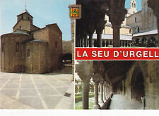 Various Views Seu D'Urgell Spain Postcard Unused VGC