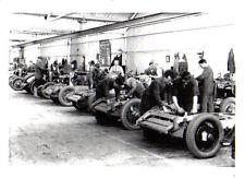 MG Pre-War Factory Retrospective black & white Press Photograph No. 7735