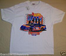 KYLE PETTY SIGNED AUTO NASCAR FAN CLUB HOT WHEELS SIZE X-LARGE T-SHIRT SHIRT