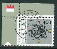 BRD Mi-Nr. 1805 - Ecke 1 - Eckrand - Vollstempel - zentrisch Mainz Ersttag