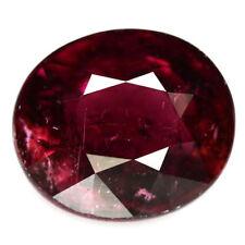 TOP RUBELLITE : 3,93 Ct Natürlicher Rubellit / Rubelith ( Pink Turmalin) Brazil