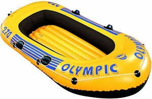 Wehncke Olympic 270er Badeboot Boot Gummiboot ca. 264 x 122 cm Schlauchboot
