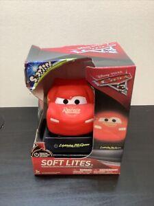 Disney Cars Night Light Lightening Mcqueen Soft Lite Toy Bedroom New Box Damaged