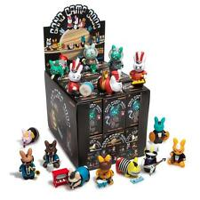ONE FULL CASE OF 24 BAND CAMP LABBITS VINYL MINI FIGURE SERIES BY KIDROBOT