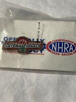 2002 MAC TOOLS GATORNATIONALS GAINESVILLE NHRA DRAG RACING EVENT HAT PIN