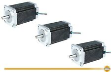 DE Free 3PCS Nema34 Stepper Motor 34HS5460D14L34J5-1 150mm 12Nm 6A Φ14mm Keyway