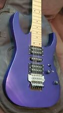 Purple Ibanez RG 270 Electric Guitar, Right Handed with carrying storage bag