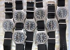 CWC G10 QUARTZ WATCH BRITISH ARMY / ROYAL MARINES ISSUED 95/04/06 NEW BATT+STRAP