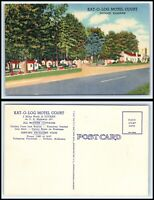 ALABAMA Postcard - Dothan, Kat-O-Log Motel Court P20