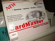 Califone CardMaster NEW! Magnetic Card Reader