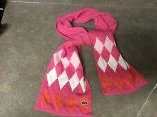 LACOSTE Pink & Orange Scarf (CON34)