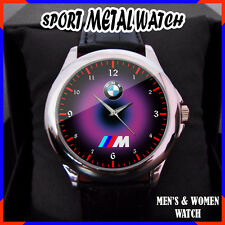 BMW E30 M3 M4 M5 i8 M power NEW RARE Round Metal Watch