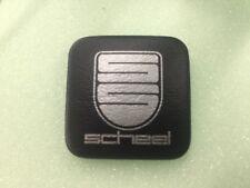 Scheel seat badge pair BMW CSL PORSCHE NEW VW Mercedes Special Sitze button AUDI