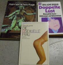 Bücherpaket Buchpaket Partnerschaft Erotik Sex Ratgeber Tagebücher Fotos frivol
