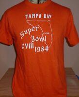 vintage 1984 Tampa Bay Buccaneers Super Bowl t shirt  Large RARE