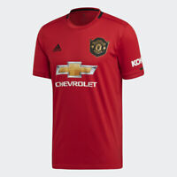 Adidas Manchester United Home Jersey Special, #GGMU, Real Red, MSRP $90