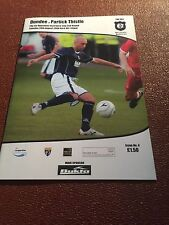Dundee v Partick Thistle 2008/09