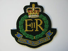 Royal Military Police Wire Embroidered Bullion Blazer Badge - British Army