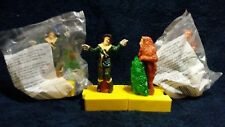 1998 Blockbuster Wizard of Oz The Cowardly Lion scare crow Action Figure Toy