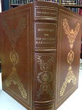 Franklin Library: Brothers Karamazov: Dostoevsky: 25th Anniversary Great Books