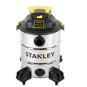 Stanley 10 gal. 6.0-Peak HP Stainless Steel Wet Dry Vacuum