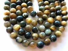 Cat's Eye Roud 10mm smooth beads. 15.5""