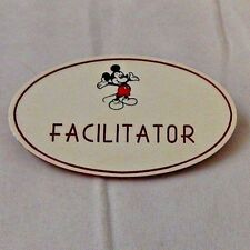 Disney Cast Member Name Tag Faciltator