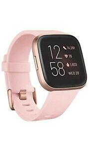Fitbit Versa 2 Activity Tracker Petal Copper Rose Open box item