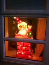 90cm Light Up Santa In Chimney Decoration Christmas Battery Powered Large indoor