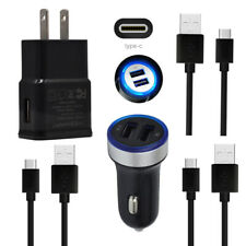 Power USB Phone C Cord Wall Car Charger for Samsung Galaxy A80/S10+/S10e/A8s/A9s