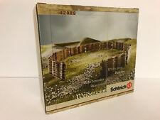 Schleich #42029 Rare Medieval Knights Wicker Fence Set (Castle Ritterburg)