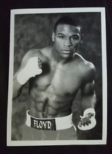 Floyd Mayweather Jr. black and white promotional photo 5 x 7 inches TMT (001a)