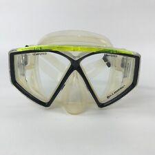 US Divers Diving Mask Scuba Snorkel Goggles Half Face Tempered Glass Lens
