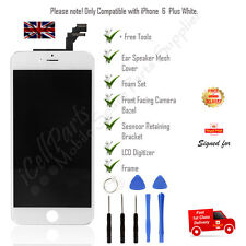 OEM Apple iPhone 6 Plus White LCD Screen And Digitizer Assembly With Frame+Tools