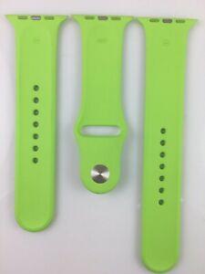 NEW Original Apple Watch Series 7 6 SE 5 4 3 2 1 Sport Band 42mm 44mm 45MM Green