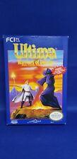 Ultima Warriors of Destiny NES Nintendo 1993 CIB complete in box with map book