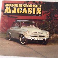 Motorhistoriskt Magasin Magazine Skoda 440 No.3 1996 071017nonrh