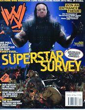 WWE Magazine December 2009 The Undertaker On Cover Wrestling