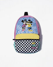 Vans Off the Wall Disney Hyper Minnie Calico Backpack 90th Anniversary