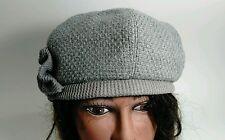 Halogen Wool Blend Knit Cloche Hat Cap Winter Snow Ski Warm Hat Beanie Skull Cap