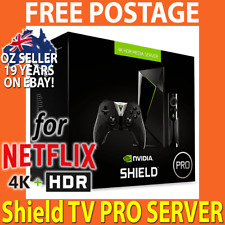 2018 NVIDIA SHIELD TV PRO 500GB 4K+HDR Android Media Player & PLEX SVR for Kodi